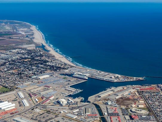 The Port of Hueneme is pictured in an undated photo.