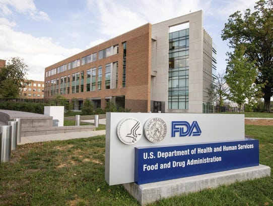 This 2015 file photo shows the Food and Drug Administration