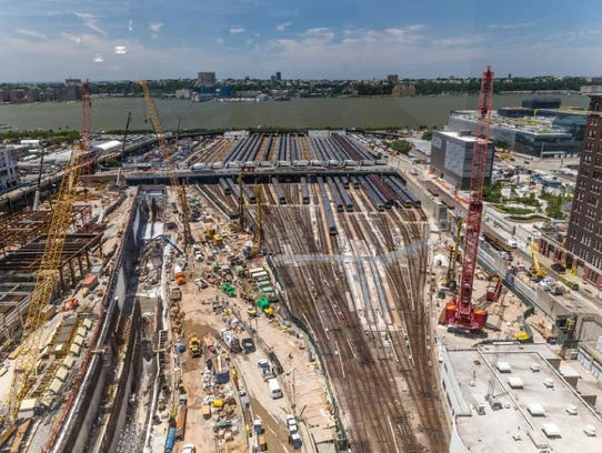 The pathway for a new Hudson River Tunnel is planned