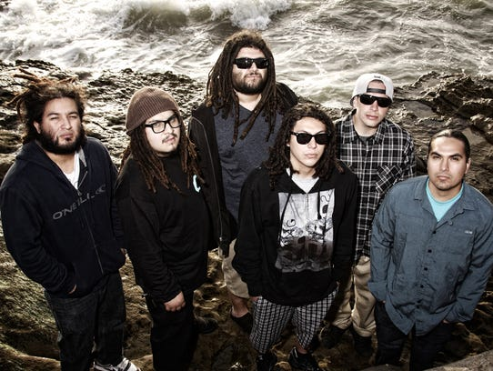 Reggae-rock act Tribal Seeds, pictured, will play a