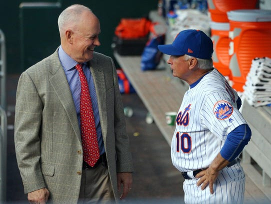 Sandy Alderson and Terry Collins