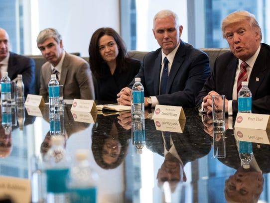 Jeff Bezos, chief executive officer of Amazon, Larry