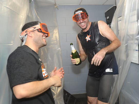 Jose Altuve and Justin Verlander