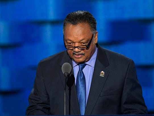 Rev. Jesse Jackson announced Friday in a letter to