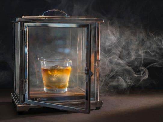 1792 Small Batch Bourbon, smoked at Hyatt Regency Coconut