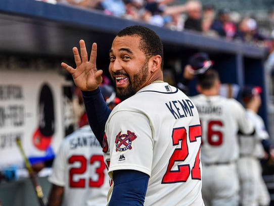 The Braves traded Matt Kemp to the Dodgers