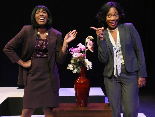 Racquel McKenzie (left) and Lillie Richardson in Black
