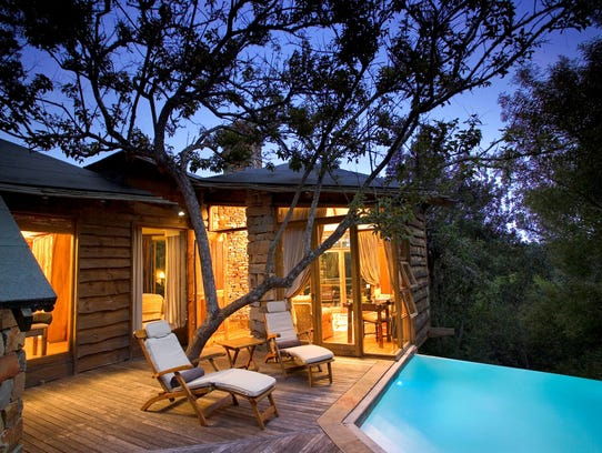 A Tsala treetop suite in Western Cape, South Africa.