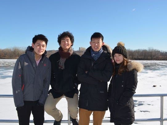 Victor Hua, Sean Kwon, Kai Zhao and Ashley Sidoryk