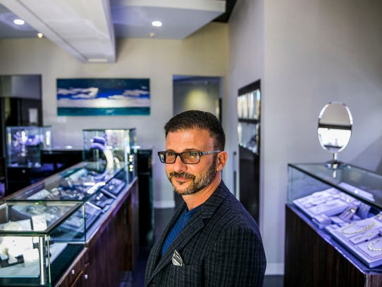 Jewelry designer and owner of Port Royal Jewelers William