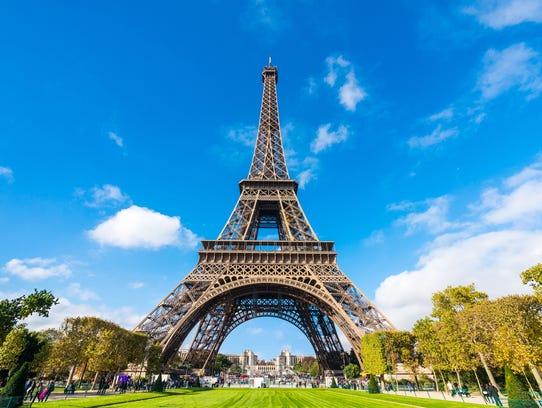 Paris Eiffel Tower in France