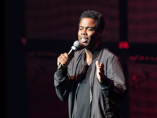 Chris Rock used Yondr phone pouches on his 2017 tour,