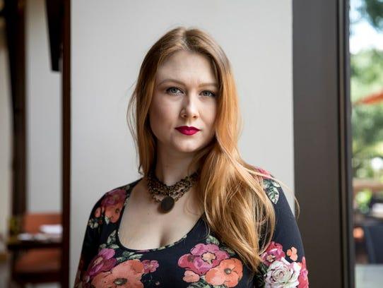 Tessa Neumann, 26, sat down for an interview in Austin,