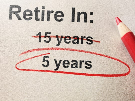 The sooner you retire, the sooner you can get around to doing all the things you've always wanted to do.