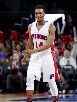 Ish Smith, B-minus. Aside from an uneven beginning to his Pistons tenure, provided more than enough value as the team's backup point guard. Filled in admirably for the slumping Jackson. 2017-18 salary: $6 million.