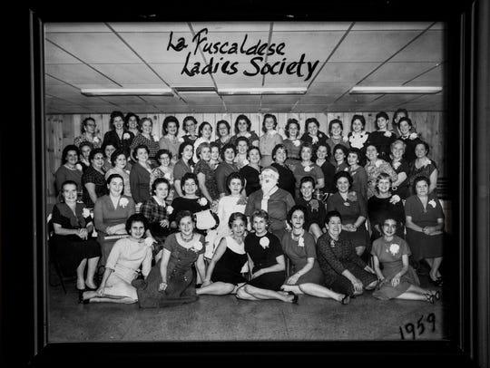 La Fuscaldese Ladies Society in 1959.