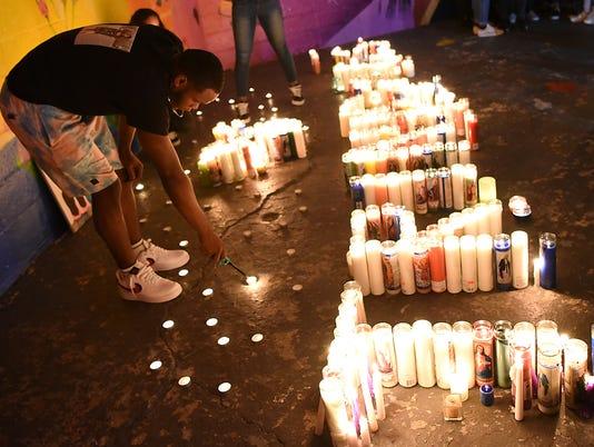Vigil for Trinidad family