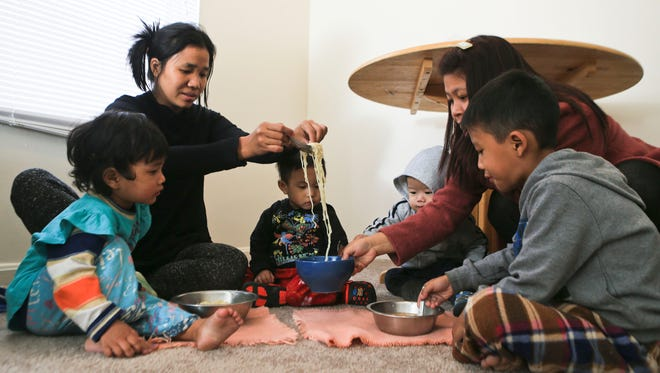 Fourteen refugees fleeing military rule in Myanmar have recently settled into three Buechel-area apartments with the help from Kentucky Refugee Ministries.