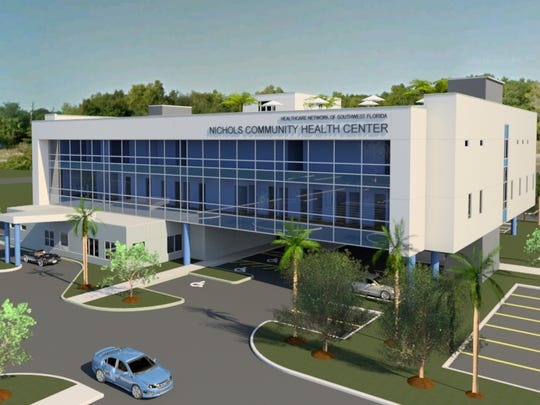 The future Nichols Community Health Center in Golden Gate.