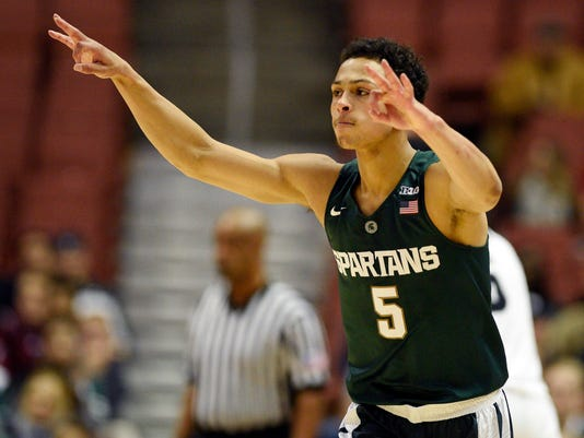 NCAA Basketball: Wooden Legacy Championship Game-Michigan State vs Providence