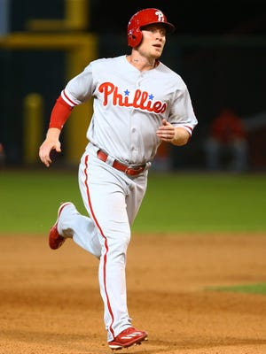 Cody Asche was one of four players promoted to the Phillies on Saturday after Triple-A Lehigh Valley's season ended in the opening round of the playoffs.