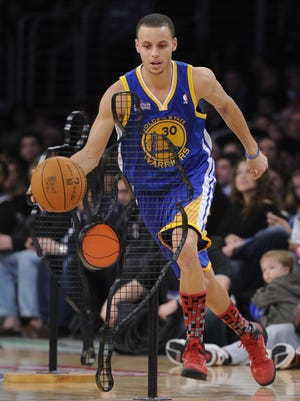 Golden State's Stephen Curry will be in the NBA final's for the second straight year.