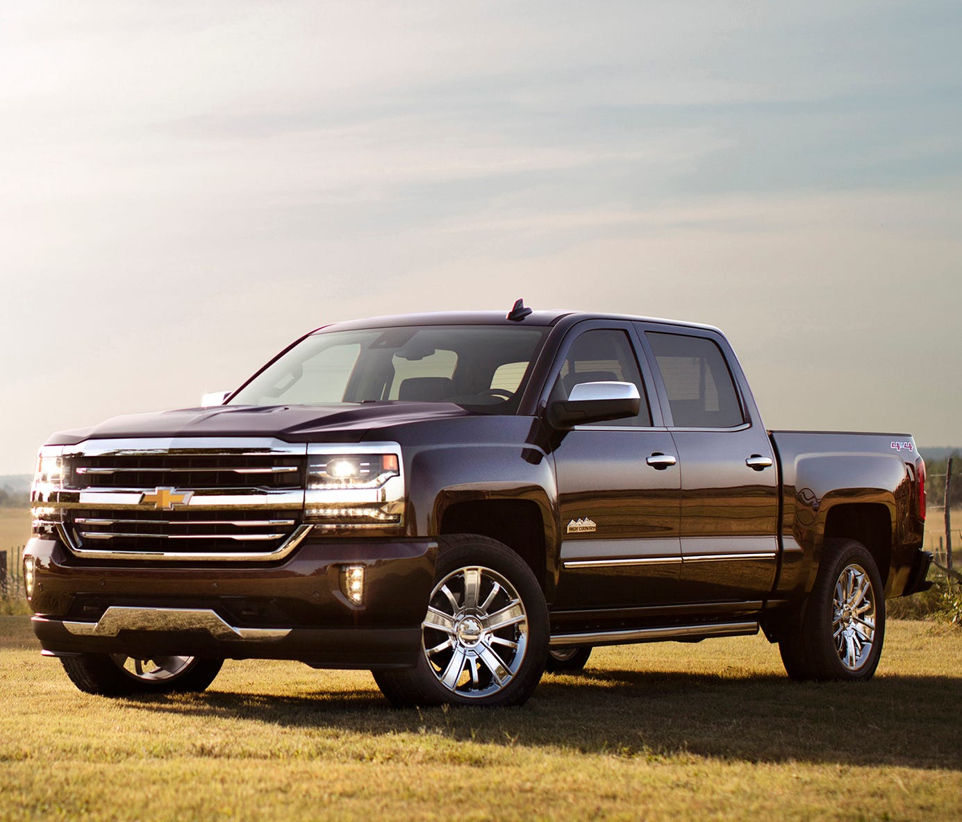 This photo provided by General Motors shows the 2017 Chevrolet Silverado, an example of a truck that could be less expensive to lease than to buy. The average monthly finance payment for the Silverado is $645. The average lease payment is $404, or 37