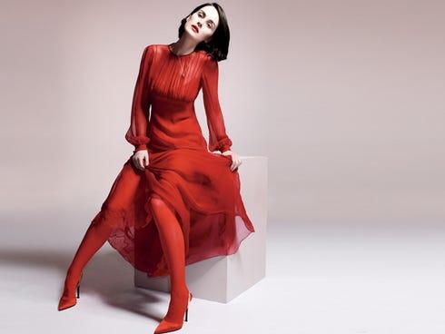 Michelle Dockery stars on the PBS hit 'Downton Abbey.'