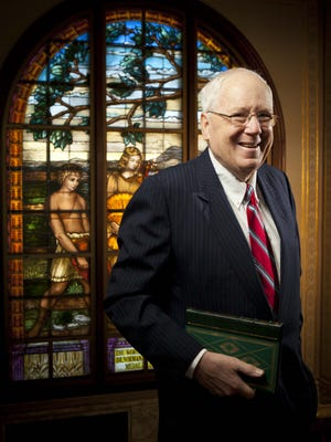 Ken Quinn, the former U.S. ambassador to Cambodia, now serves as president of the World Food Prize.