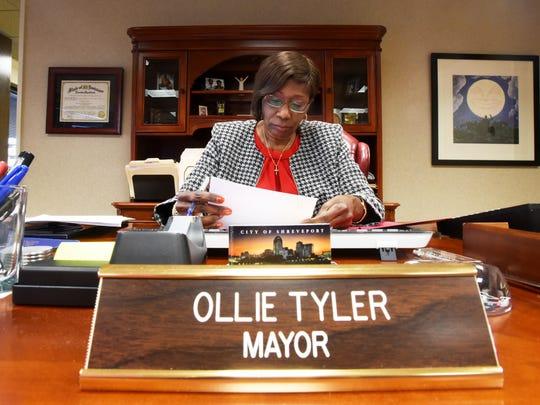 Shreveport Mayor Ollie Tyler.