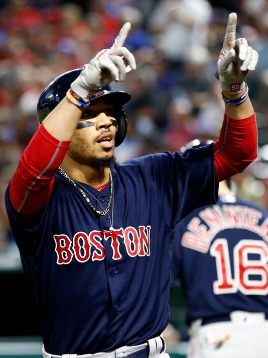 USP MLB: BOSTON RED SOX AT TEXAS RANGERS S BBA TEX BOS USA TX