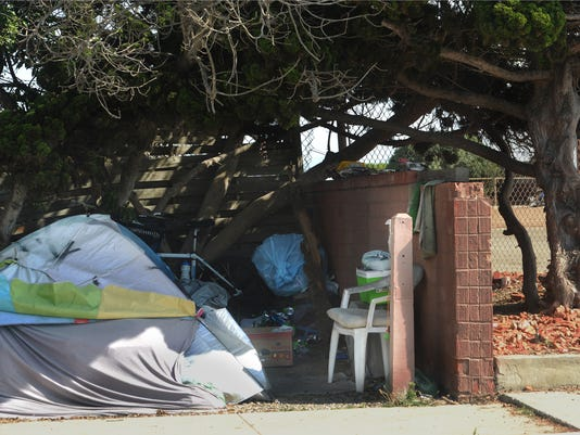 Homeless encampment 6