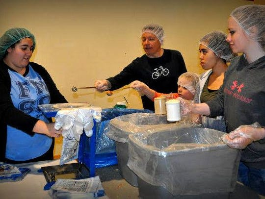 To register for this weekend's FMSC MobilePack at coyotehowlingshopforacause.com/feed-my-starving-children