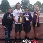 Campbell County wins 10th Region tennis