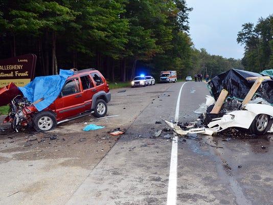 Pa. car crash