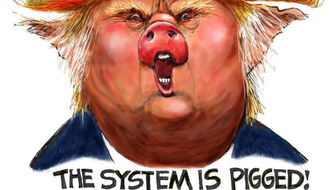 Cartoon for Oct. 20, 2016.