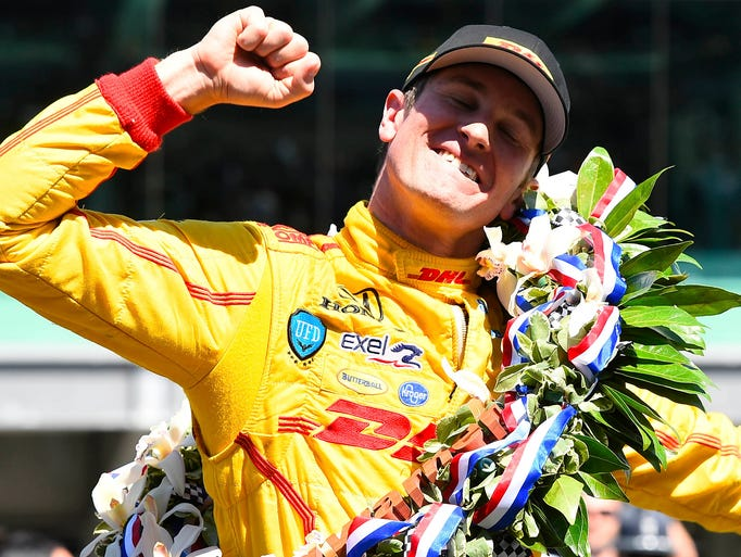 Ryan Hunter-Reay, born Dec. 17, 1980, has been racing in the IndyCar Series since 2007 and in open-wheel racing since 2003. He won the 2012 IndyCar championship and the 2014 Indianapolis 500.