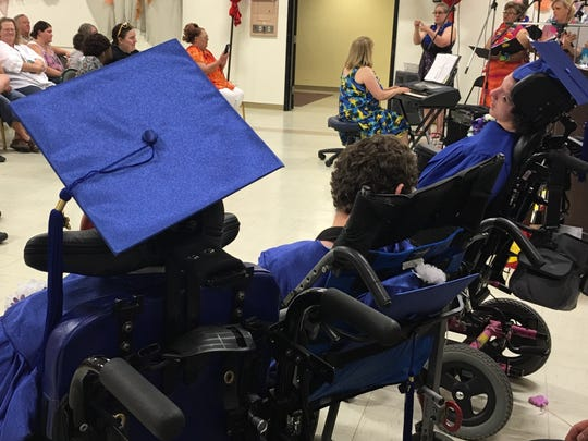 Picollo School, the only Washoe County school for children with disabilities, had its graduation ceremony on June 7, 2016.