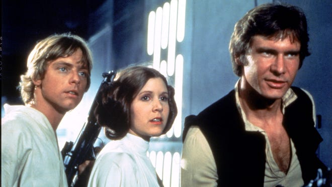 """Star Wars"" opened in Appleton in June of 1977."