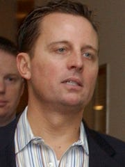Richard Grenell is pictured in a 2006 file photo. The incoming president is considering Richard Grenell as United States ambassador to the United Nations.  (AP Photo/Osamu Honda)