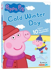 Peppa the Pig finds winter fun in this collection of