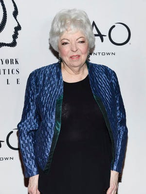 "FILE - This Jan. 3, 2017 file photo shows film editor Thelma Schoonmaker at the New York Film Critics Circle Awards in New York.   Schoonmaker has worked with director Martin Scorsese for decades and won three Academy Awards for editing films; ""Raging Bull,"" ""The Aviator,"" and ""The Departed."""