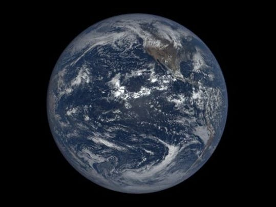 NASA has launched a new website for those on Earth to see the planet's sunlit side every day. With images taken one million miles away, the new site which the space agency started on Monday will give the public a new perspective of Earth.