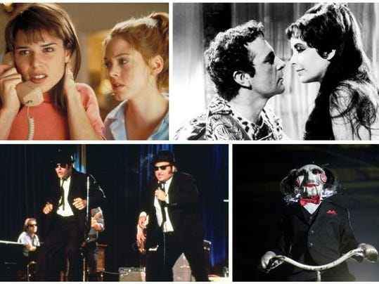 'Scream,' 'Cleopatra,' 'Blues Brothers' and 'Saw II' are a few of the movies on the way out.