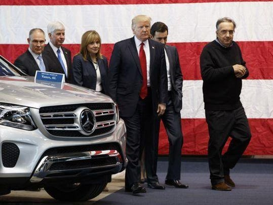 Trump in Ypsilanti