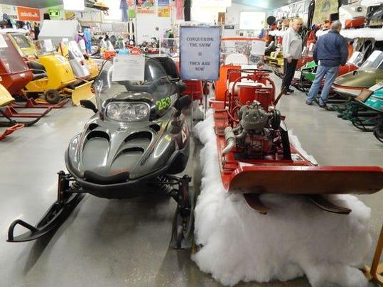 LCP Naubinway snowmobile museum