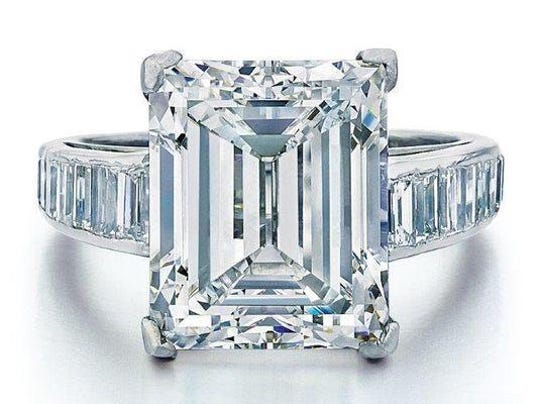 Maples Trump Diamond Engagement Ring Sells For 300000