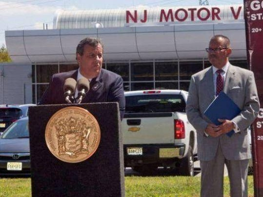 Happy birthday update your license christie signs new law for Motor vehicle in trenton new jersey
