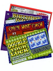 New Jersey Lottery tickets