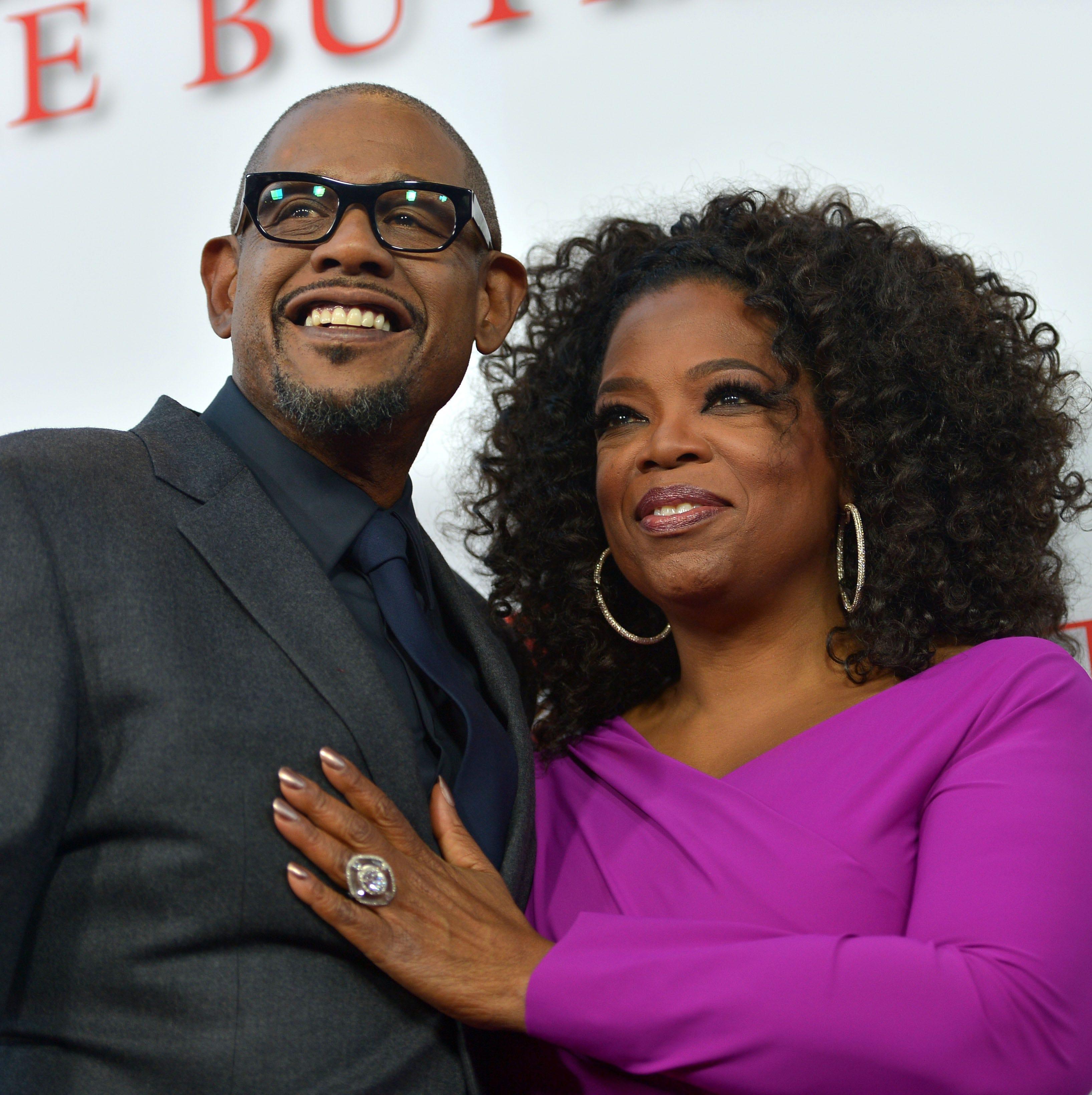 Oprah discusses racist incident